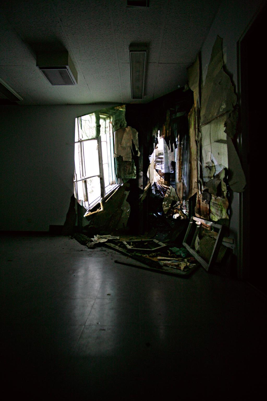 multimedia installation, Estranged Relations, Ptarmigan gallery, Helsinki, 2009, Jane Hughes