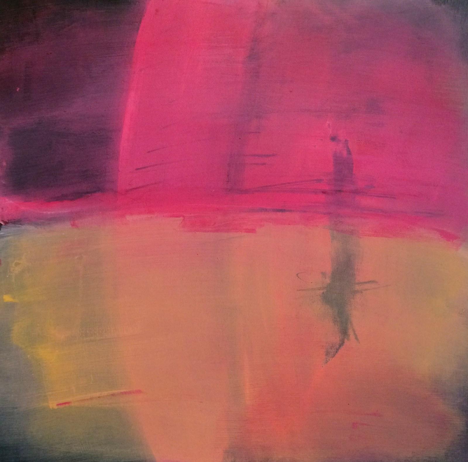 how time feels (honey-covered), 40 x 40 cm, 2015, Jane Hughes