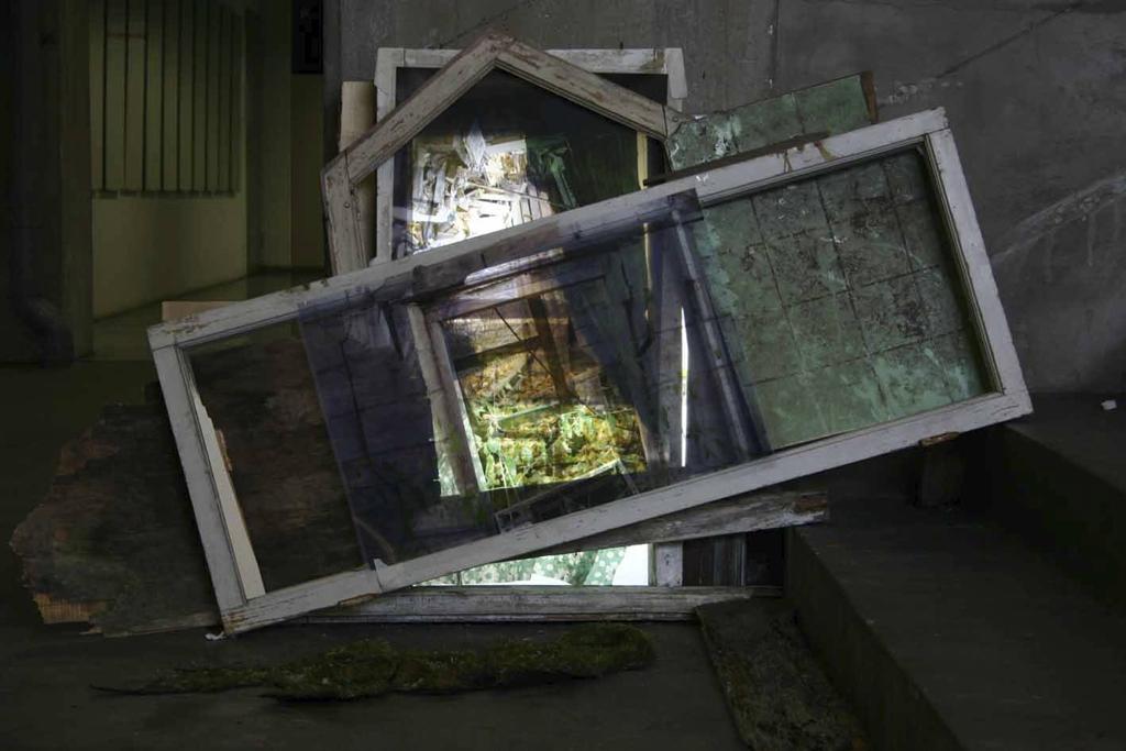 Kruunnuvuori, Helsinki, mixed media installation, 2009, Jane Hughes