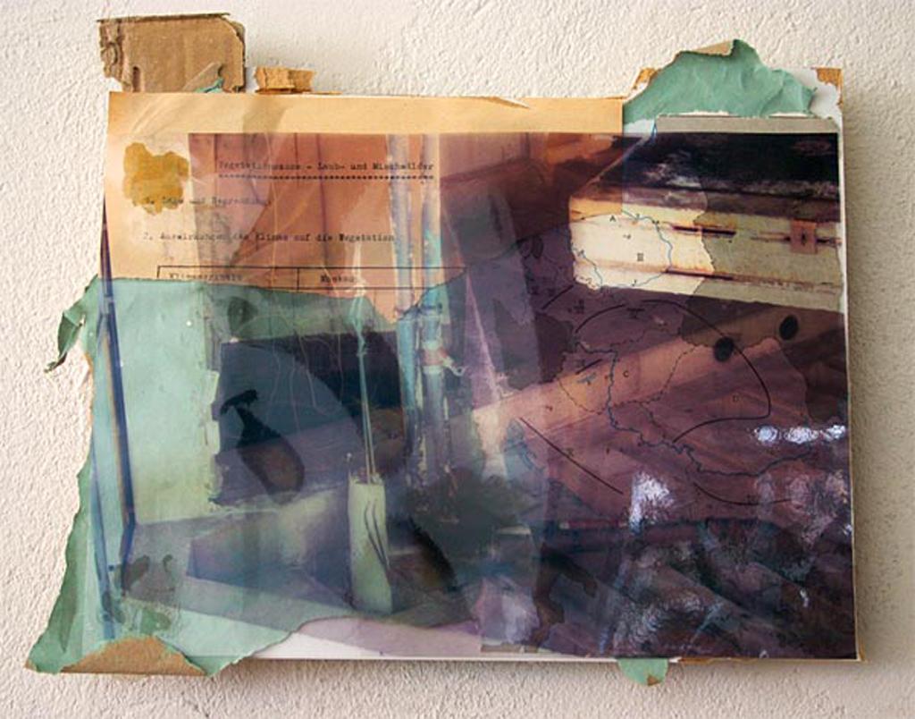 karl-marx-strasse,  24 x 30 cm, collage, 2009, Jane Hughes