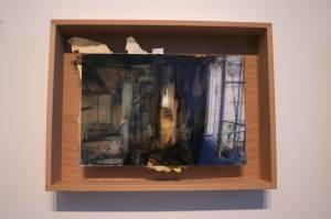 Kruunnuvuori-2, Helsinki,  24 x 30 cm, collage, 2009, Jane Hughes
