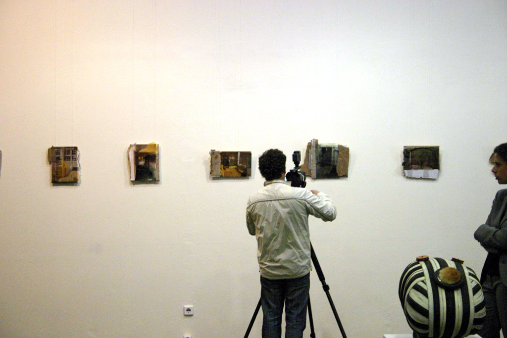 Installation view, Made in Berlin, State Gallery of Kallingrad, Russia, 2009, Jane Hughes