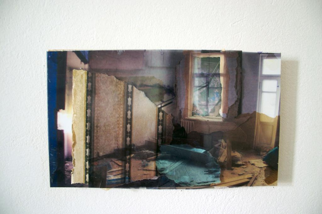 Kaliningrad-2, 24 x 30 cm, collage, 2008, Jane Hughes