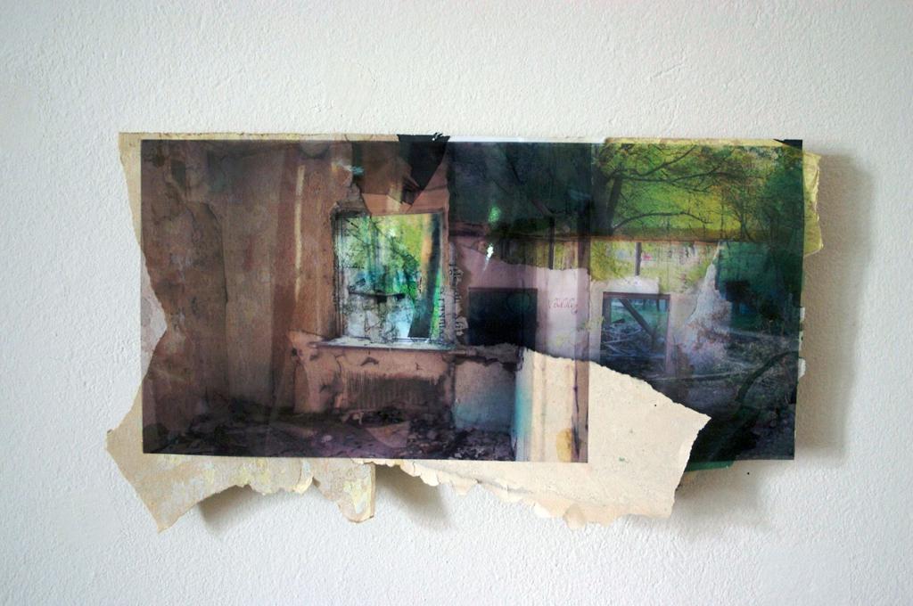 Kaliningrad-3, 24 x 30 cm, collage, 2008, Jane Hughes