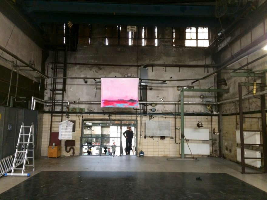 Installation shot, Landscape Metropolis, Former power station, Schönweide, Berlin, 2015, Jane Hughes