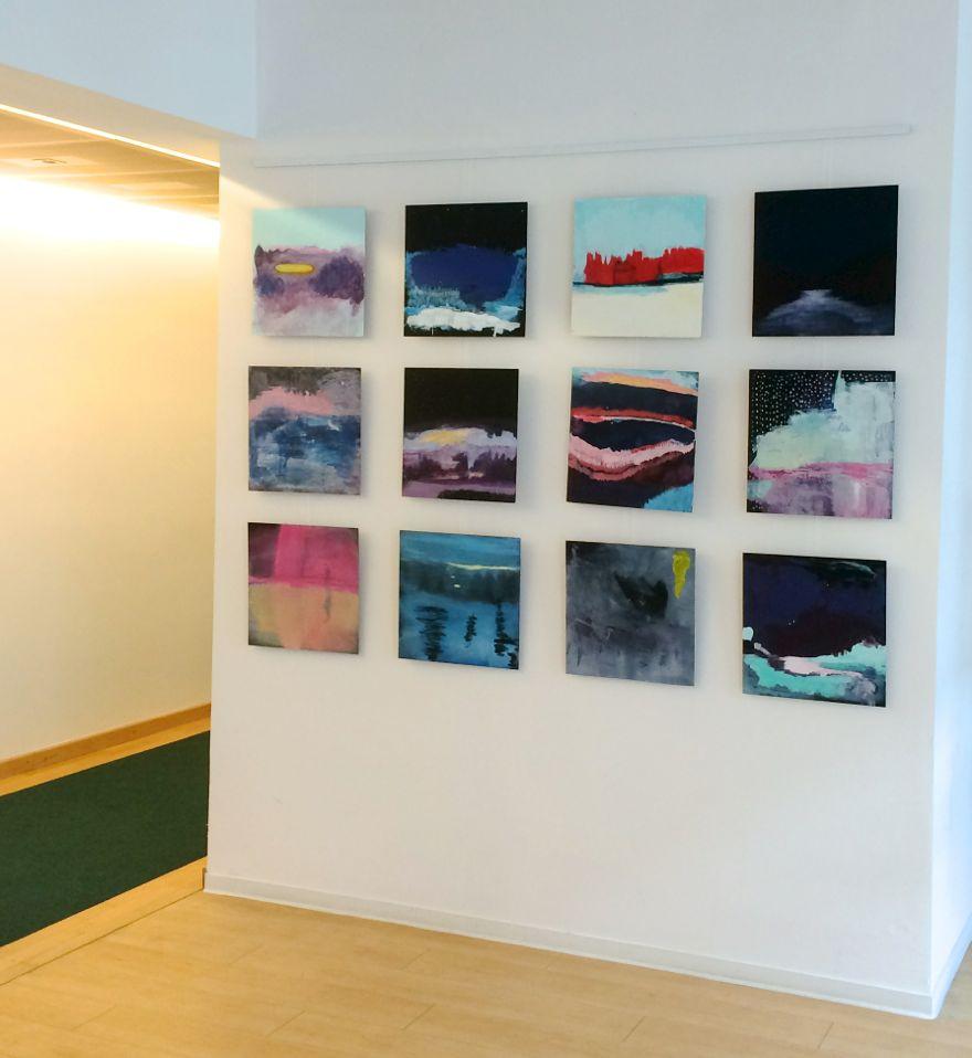 installation view, faraway longings, Embassy of Ireland, Berlin, 2016, Jane Hughes