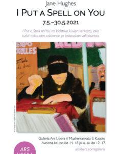 Jane Hughes-I put a spell on you-galleria-ars-libera-kuopio